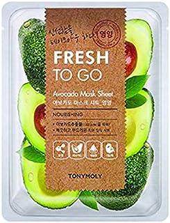 Tonymoly Fresh To Go Avocado Mask Sheet, 25g