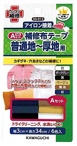 Bande de tissu de r?paration estuaire Un Set 93013 (japon importation)