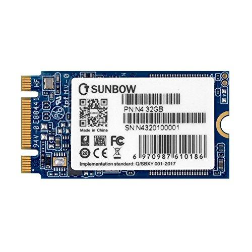 TCSUNBOW M.2 2242 32GB SSD NGFF 30 GB 32 GB Solid State Drive Disk für Ultrabook Desktop PCs und Mac Pro (22 * 42mm)