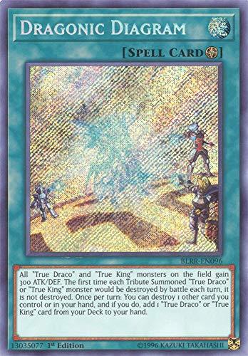 Dragonic Diagram - BLRR-EN096 - Secret Rare - 1st Edition