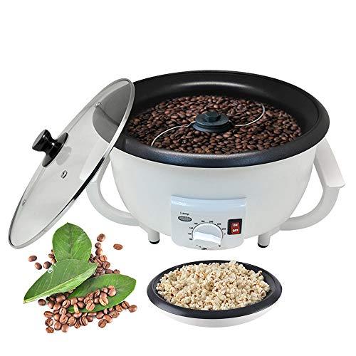 RURUI 220 V / 1200 W Kaffeeröstmaschine Mit Kleiner Kapazität, Multifunktions-Popcornmaschine-Coffee Roaster, 0-240 °C Einstellbar, FüR Den Haushalt