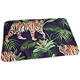 Wickelauflage,Tiger-Dschungel-Muster-Kühle Druckbaby-Änderungs-Matten Für Hauptreisebett 65x80CM