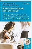 Ihr Recht beim Unterhalt in Ehe und Familie - Christopher Posch