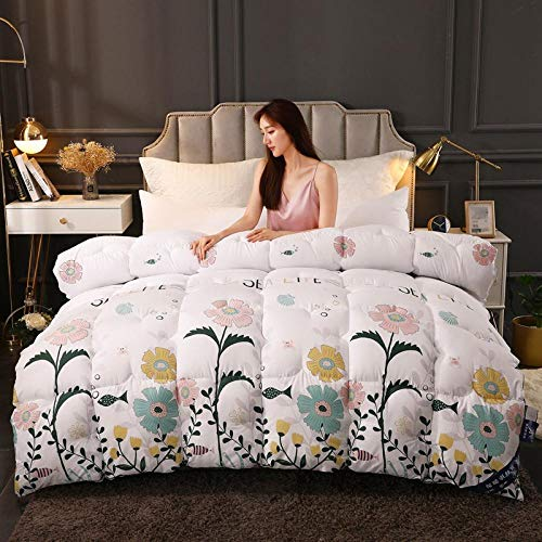 CHOU DAN Duvet/Quilt,Quilt Winter Quilt Core Thickened Warm Winter Double Spring And Autumn Cotton Quilt Single Student Dormitory-7_200*230cm-8 Kg