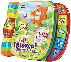 VTech Baby 166703 Musical Rhymes Book, Multi