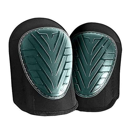 QUMAXX, Rodilleras de gel/Protectores de rodillas para el trabajo y el jardín – Rodilleras profesionales/Protectores de...