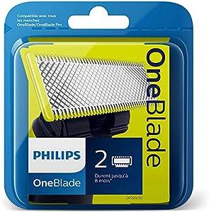 Philips Norelco OneBlade QP220/50 - Recambios para máquina de afeitar (pack de 2) (versión extranjera)