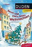 Duden Leseprofi – Benni und Clara retten Weihnachten, 2. Klasse: Kinderbuch für Erstleser ab 7 Jahren (Lesen lernen 2. Klasse, Band 8) - Luise Holthausen