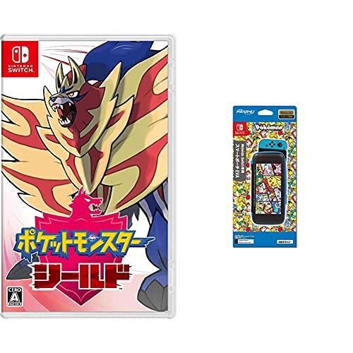 ポケットモンスター シールド -Switch +【任天堂ライセンス商品】Nintendo Switch専用スマートポーチEVA ポケットモンスター コミック
