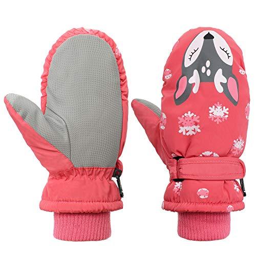 Toddler Mittens Winter Snow Glove waterproof mitten Warm Fleece...