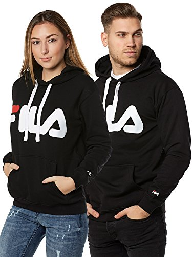 Fila Classic Logo Hoody, Sweatshirt,Schwarz,L