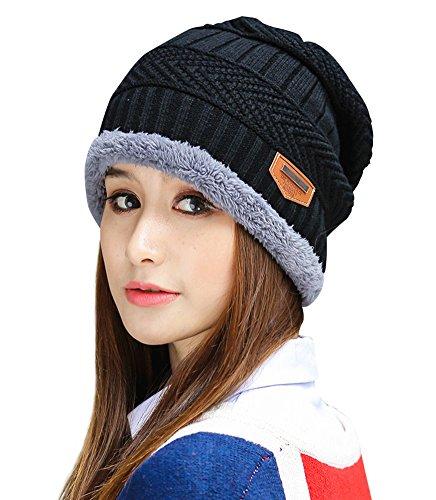 HINDAWI Womens Slouchy Beanie Winter Hat Knit Warm Snow Ski Skull Cap...