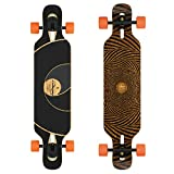 Loaded Boards Tan Tien Bamboo Longboard Skateboard Complete (80a Stimulus, Flex 1)