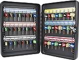 BARSKA CB12484 Key Lock 48 Position Adjustable Key Cabinet Lock Box Black