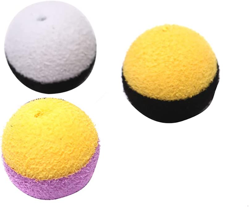 15pcs Carp Fishing Boilies Bait Foam Boilies Ball Bait for Carp Hair Rig Feed/_sy