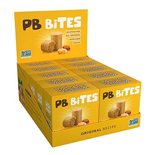 PASOKIN | Natural Peanut Butter Snack, Creamy PB Bites | Gluten Free, Vegan Protein | Pacoca Made in USA, 0.5 oz bites [20 count]