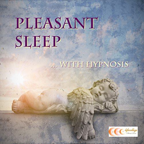 Pleasant sleep... with hypnosis audiobook cover art