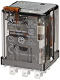 Finder 623382300040PAS - Relé a spina, 3RT 16 A, 250 VAC 230 VAC con pulsante per prova m...