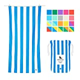 Microfiber Towel - Beach & Travel (Blue - Large 63x31') - quick dry,...