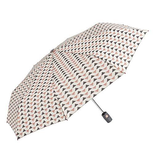 GOTTA Paraguas Plegable antiviento de Mujer. Paraguas compracto con Abre-Cierra automático. Estampado...