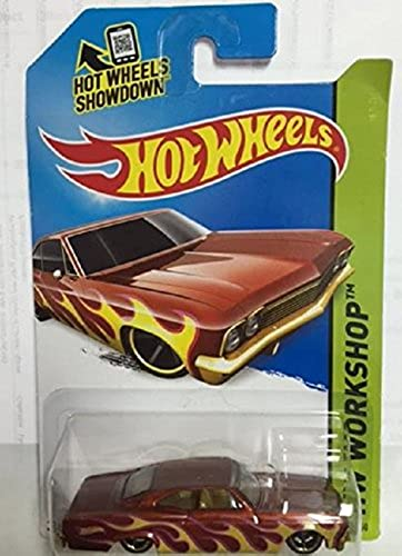 Hot Wheels Secret Super Treasure Hunt '65 Chevy Impala Dark Orange  218 250