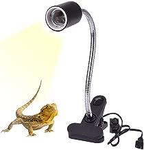 Calore Lampada Portalampada Ruotabile Regolabile a 360 ° Riscaldante Luce Titolare Supporto Acquario Morsetto Lampada Stand Fixture per Rettili Tartarughe Serpente Lucertola (lampadina non inclusa)