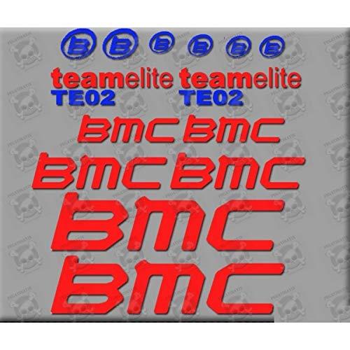 Aufkleber für Mountainbike, BMC, TEO2, Aufkleber, Autocollant.