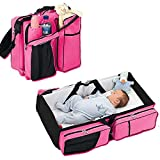 Shop Stoppers   3 in 1 Universal Baby Travel Bag Portable Bassinet Crib