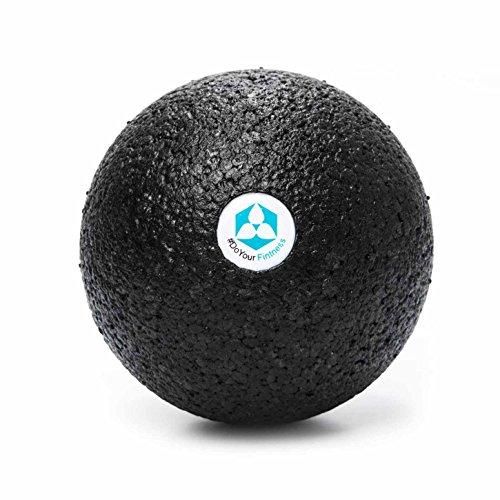 #DoYourFitness® Faszienball groß - Massage-Ball | ideal für Faszientraining (Muskeln & Bindegewebe), Selbstmassage & gegen Verspannungen (BlackCat groß)…