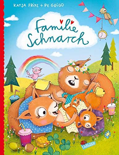 Familie Schnarch: Bilderbuch übers Trödeln und Träumen für Kinder ab 3