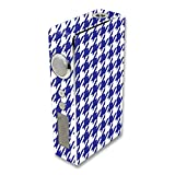 MightySkins Skin Compatible with Sigelei 100W Plus / 150W – Blue Houndstooth | Protective, Durable, and Unique Vinyl Decal wrap Cover | Easy to Apply, Remove, and Change Styles | Made in The USA