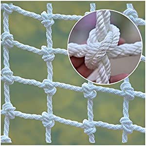 Mountaineering Net adult Truck Trailer Heavy Duty Nets Balcony Railing Stair Safety Fence Decoration Cargo Rope Ladder Child Protection Net Used for Container Grid Playground Outdoor Safety Netting