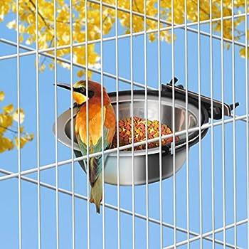 POPETPOP 1PC Mangeoire À Oiseaux pour Animaux De Compagnie Alimentaire Eau Coupe Oiseaux Bols À Boire pour Perroquets
