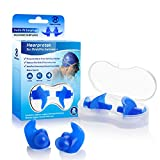 Hearprotek Swimming Ear Plugs, 2 Pairs Waterproof Reusable Silicone...