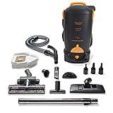 8 Qt Cordless Battery Powered HEPA Backpack Vacuum