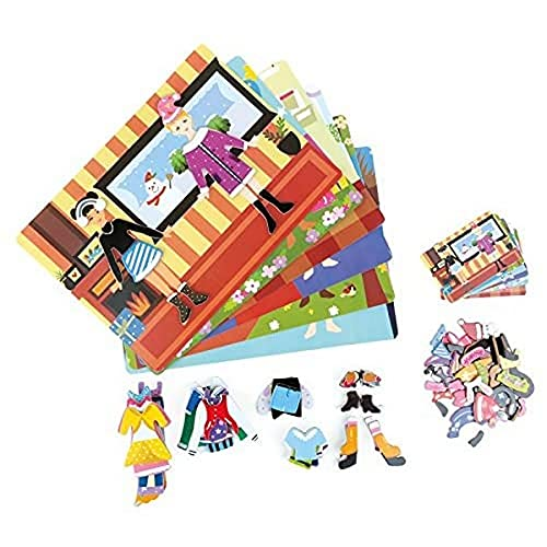 Small Foot - 3916 - Puzzle Magnétique Fille