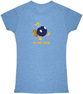 Pop Threads I'm The Bomb Funny Gamer Graphic Tee T Shirt for Women