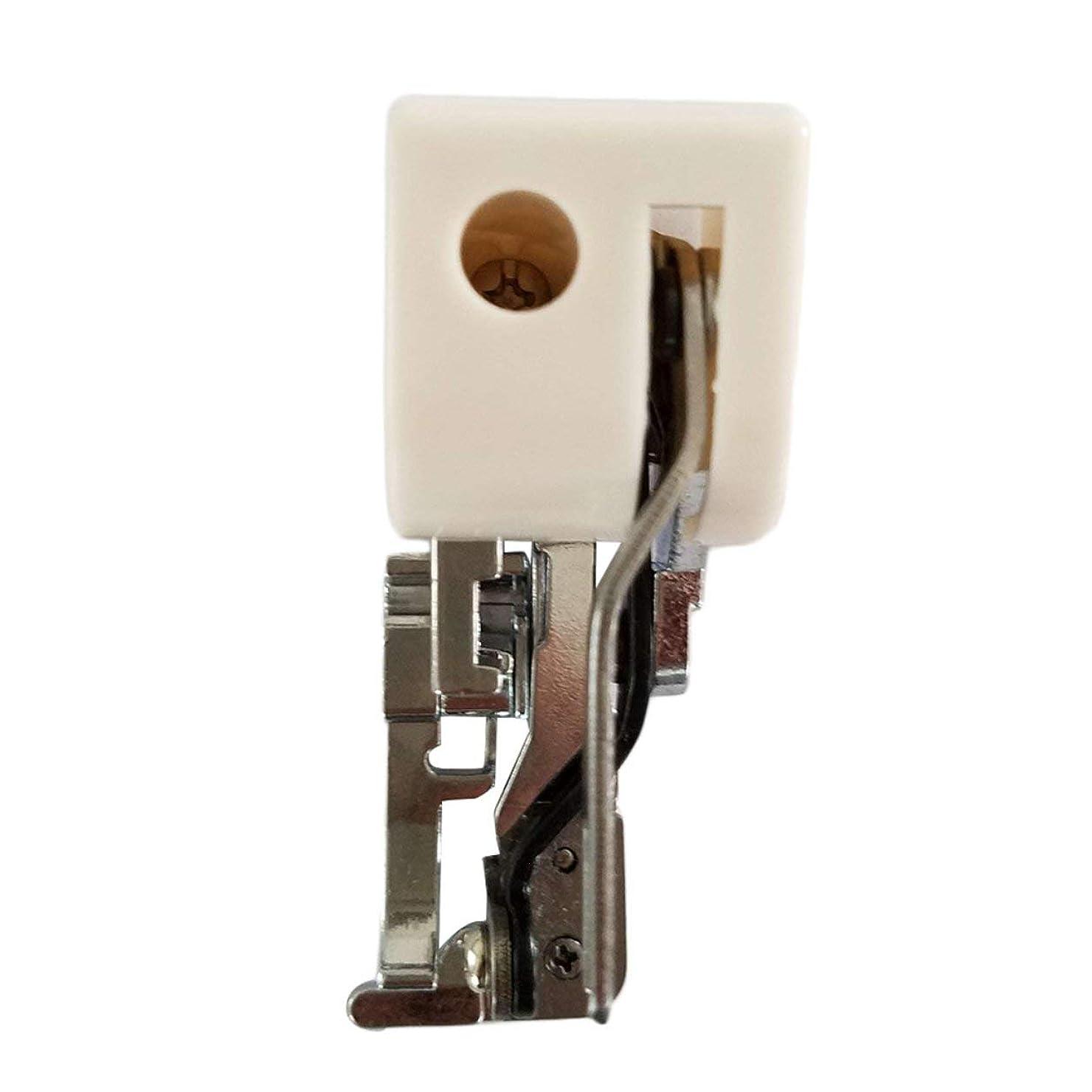 大破ボイコット騒ぎSaikogoods 低シャンクミシンスタイリッシュなデザインのための耐久性のあるメタル&プラスチックサイドカッター押え/刺繍かがりフット