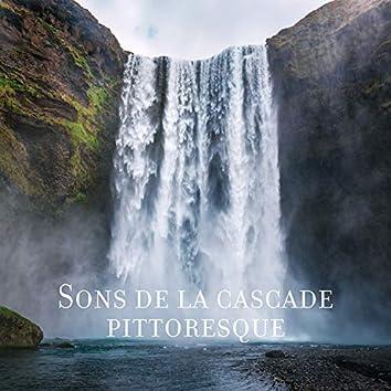 Sons de la cascade pittoresque: Paix de l'eau, Nature pure, Thérapie de guérison, Sons relaxants