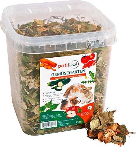 petifool, Verdura da Giardino roditori Fodera–530G