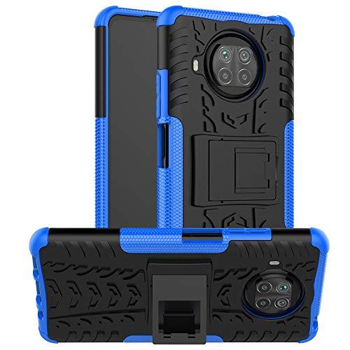 betterfon | Xiaomi Mi 10T Lite Hülle Outdoor Handy Tasche Hybrid Hülle Schutzhülle Panzer TPU Silikon Hard Cover Bumper für Xiaomi Mi 10T Lite Blau