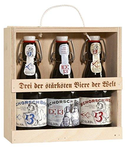 Hirdes - 'Drei der stärksten Biere der Welt' (3 x 0.33 l)