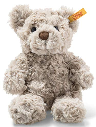 Steiff 113413 Soft Cuddly Friends Honey Teddybär, grau, 18 cm