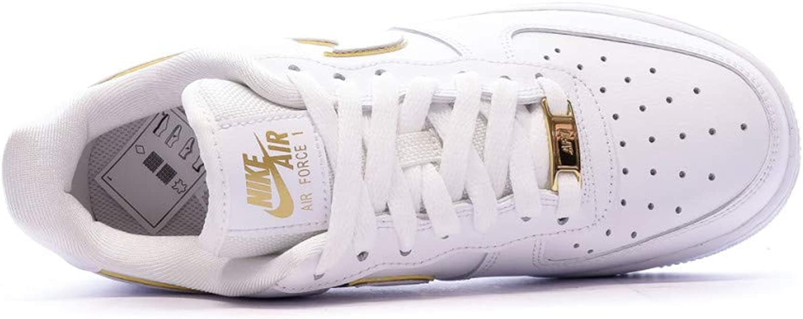 NIKE Women's Air Force 1 '07 Essential 39s Basketball Shoes ...