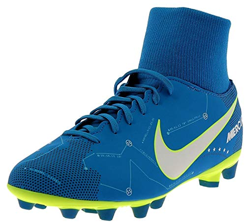 Nike, Jr Mercurial Victory, VI DF Neymar, AG-PRO, Scarpe da Calcio, Numero di Scarpe per Bambini: EUR 36,5