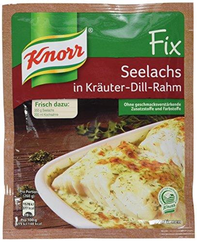Knorr Fix Seelachs in Kräuter-Dill-Rahm 2 Portionen (25 x 30 g)