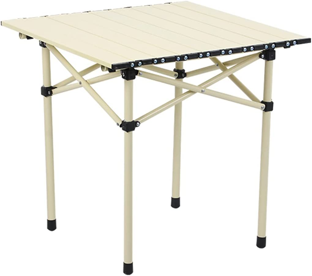 Personal Max 53% OFF Beach Surprise price Table for Sand Portable Folding up Roll Top
