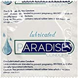 Paradise Lubricated Condom - Lubricated Latex Condom- (Pack of 25)