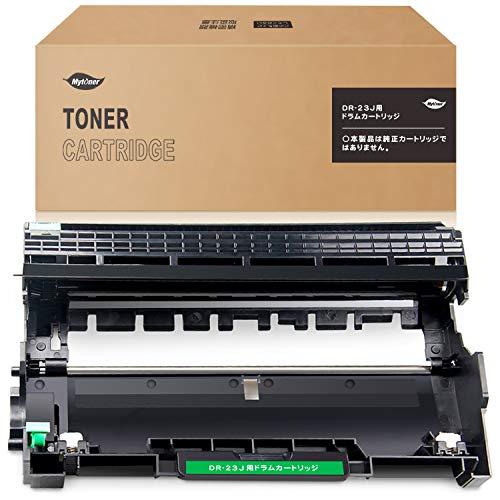 【Mytoner】ブラザー(Brother) DR-23J 互換ドラムユニット 対応機種:DCP-L2540DW/ DCP-L2520D/ MFC-L2720DN/ FAX-L2700DN