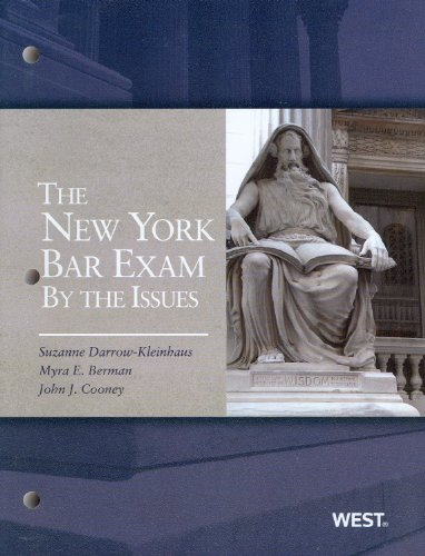 The New York Bar Exam by the Issue (Coursebook)